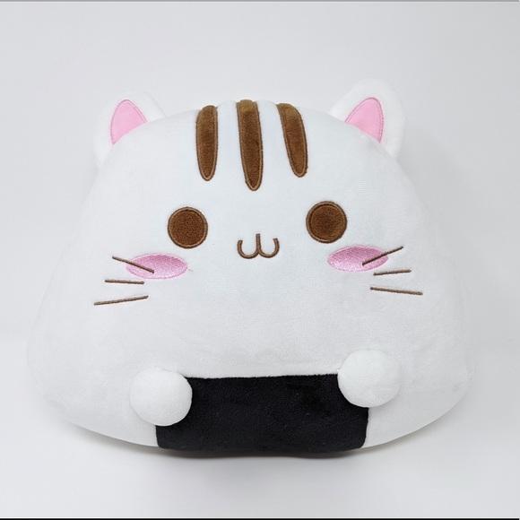 Onigiri cat plushie